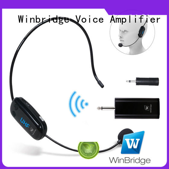 Quality Winbridge Brand system wireless microphone