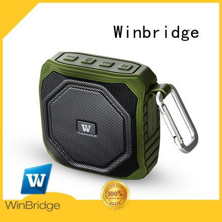 blue portable wireless bluetooth speakers panel home Winbridge