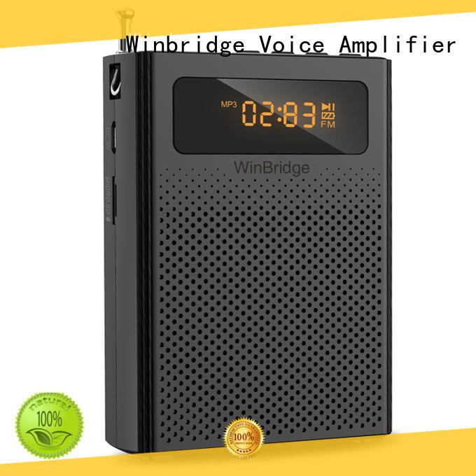 Winbridge watt winbridge voice amplifier hot sale for teacher