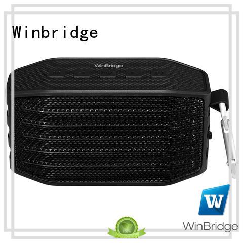 Winbridge news bluetooth speaker high end for cafe