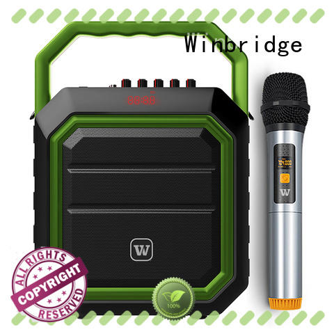Winbridge Portable PA Speaker supply for teacher
