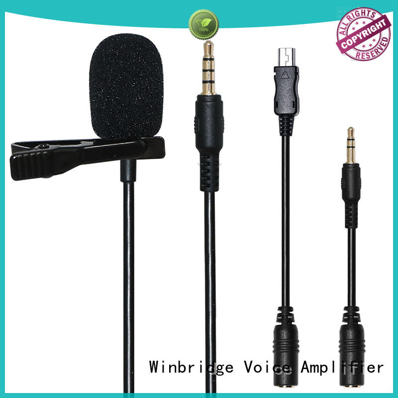 Custom system easy to use wireless microphone Winbridge winbridge