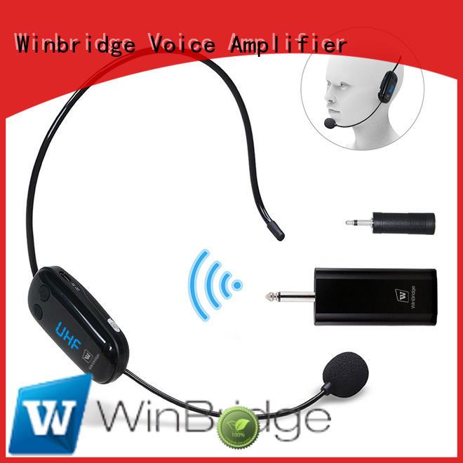 Winbridge recording professional wireless microphone customized for karaoke