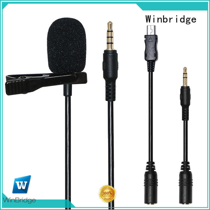 Winbridge conference wireless microphone headset for singing for karaoke