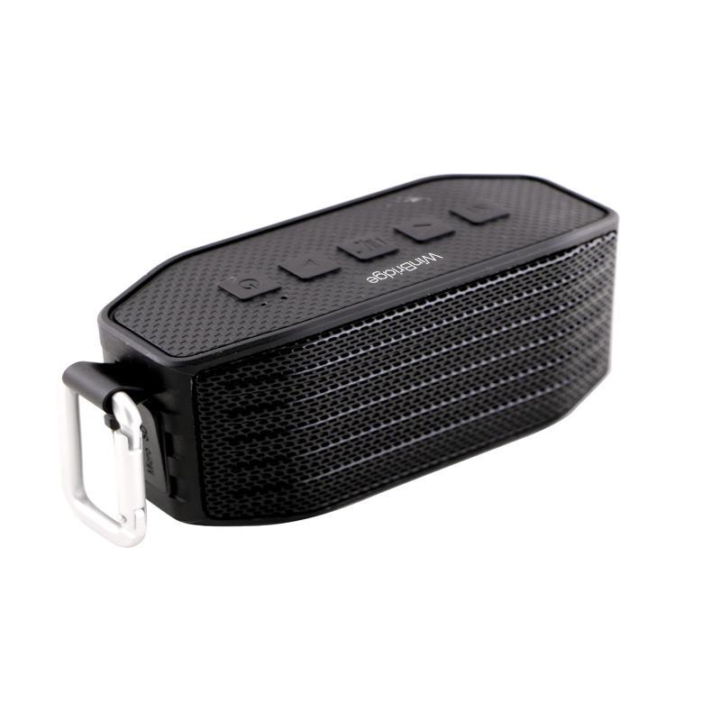 High quality WinBridge BP2 IPX4 waterproof mini wireless Bluetooth speaker with high quality HIFI amplifier
