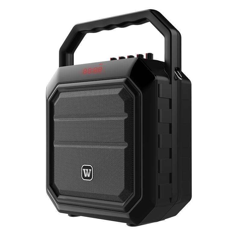 Where to get help if portable PA speaker gets problem during the use?