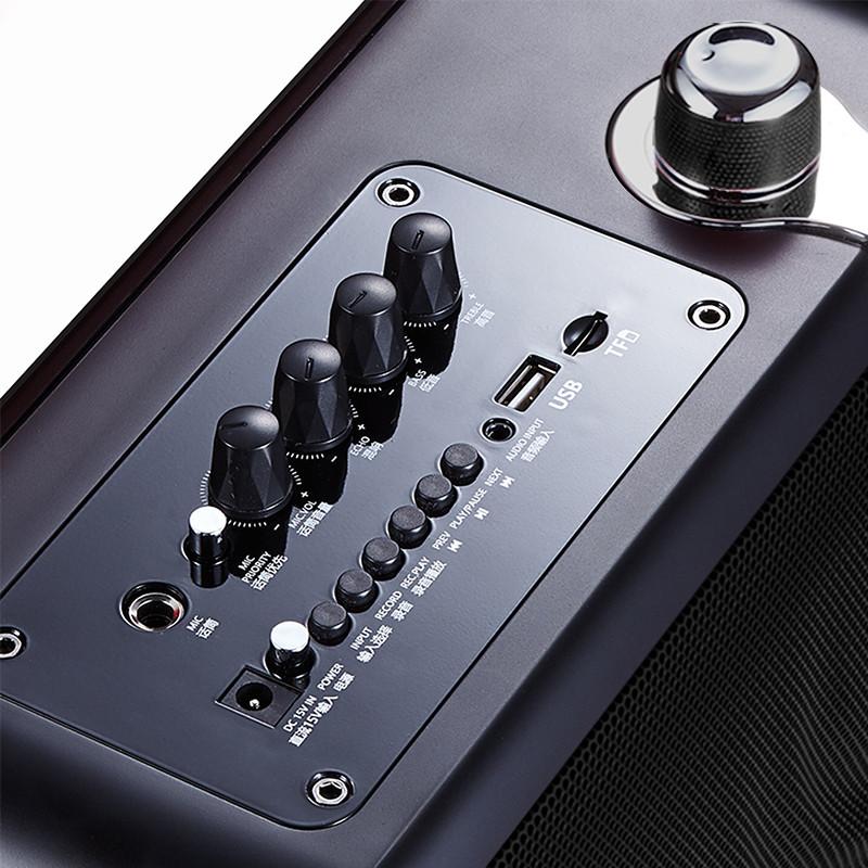 Winbridge karaoke microphone and speaker maker for dance-6