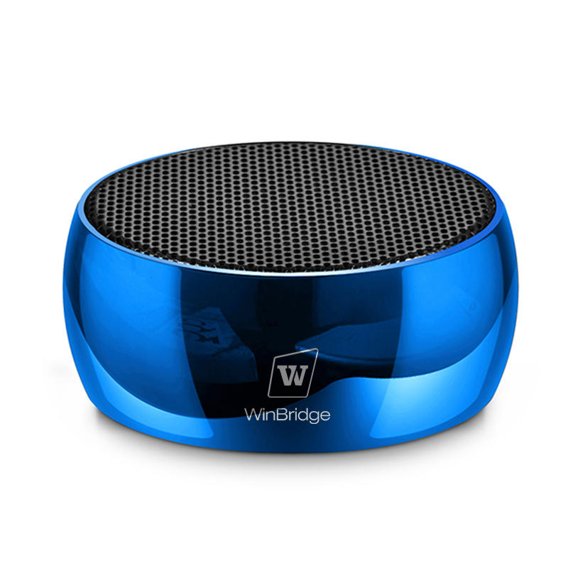 Winbridge exquisite creative bluetooth speakers with touch panel for outdoor hiking