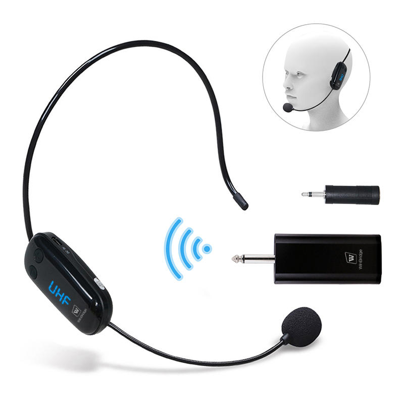 Winbridge M9 Wireless UHF Headset Microphone With Receiver