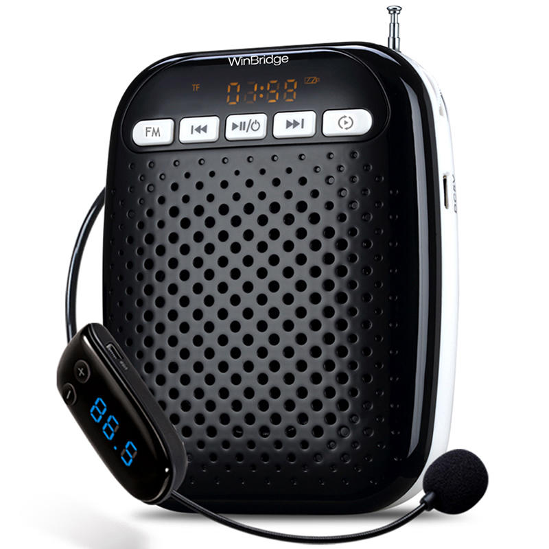 WinBridge WB378 10W Rechargeable Portable Voice Amplifier With Headset Microphone