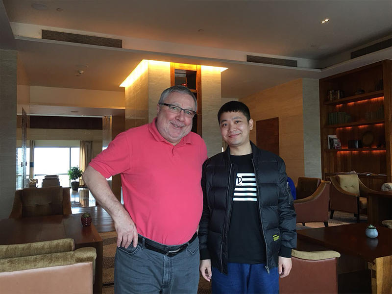 Discuss WB800 Voice Amplifier with Chris in ShenZhen 25th Jan 2018