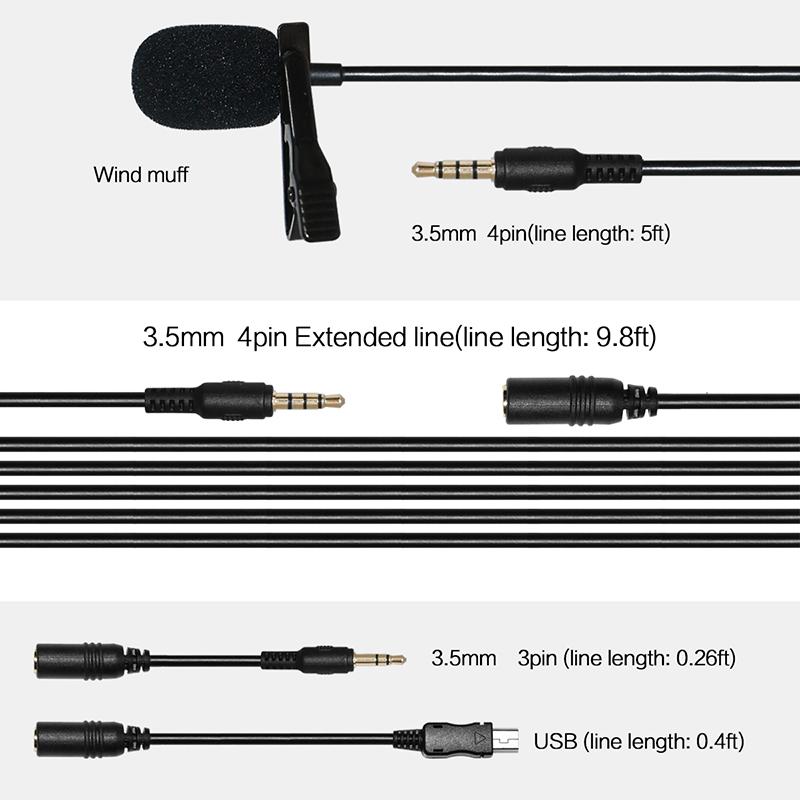 Winbridge wireless lapel microphone company for speech-6