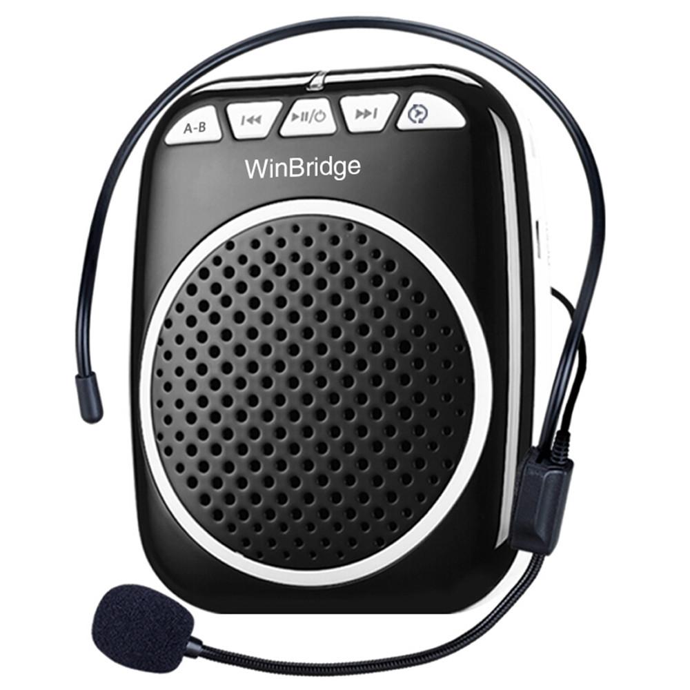 Winbridge bluetooth wireless voice amplifier for teachers with headset wholesale-2