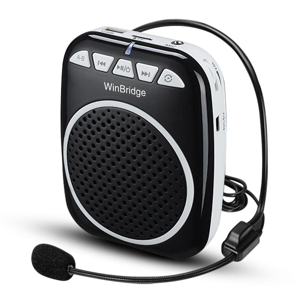 Winbridge bluetooth wireless voice amplifier for teachers with headset wholesale-3