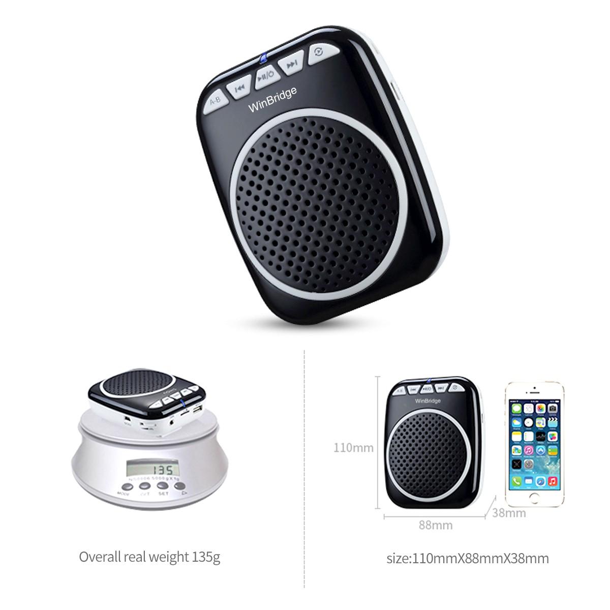 Winbridge mini voice amplifier for classroom with waistband wholesale-9