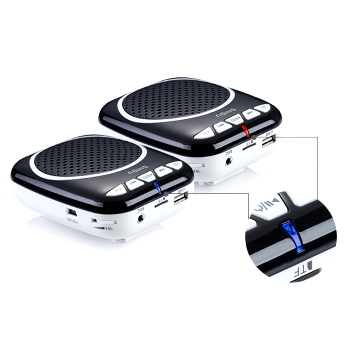 Winbridge mini voice amplifier for classroom with waistband wholesale-13