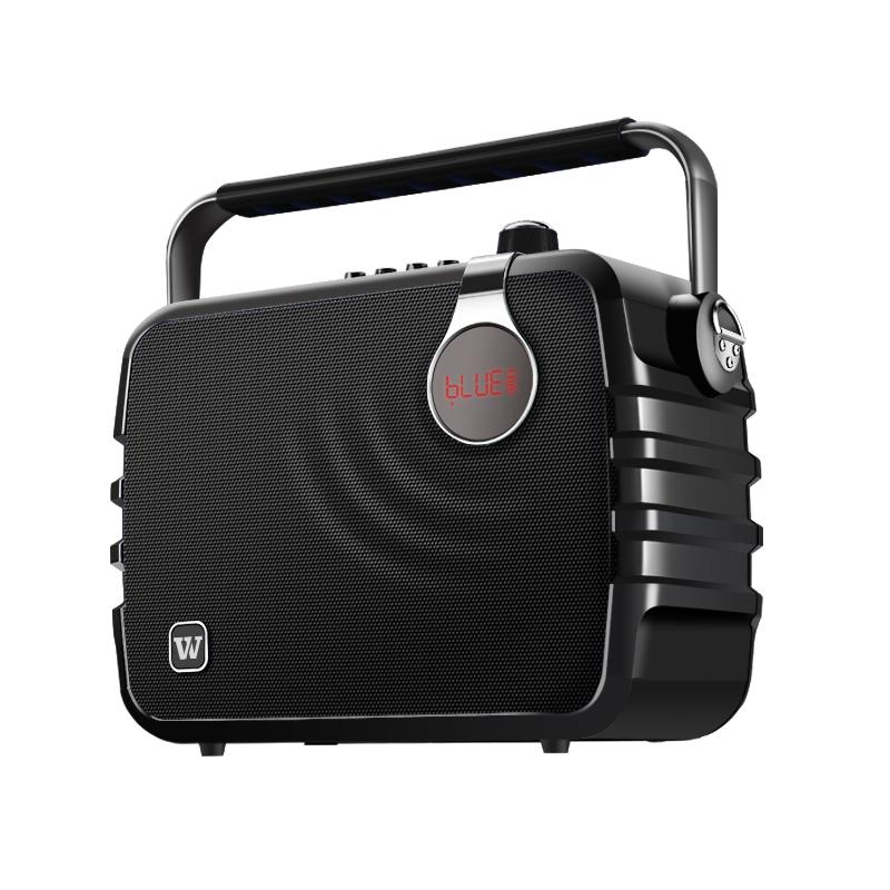 Winbridge karaoke microphone and speaker maker for dance-4