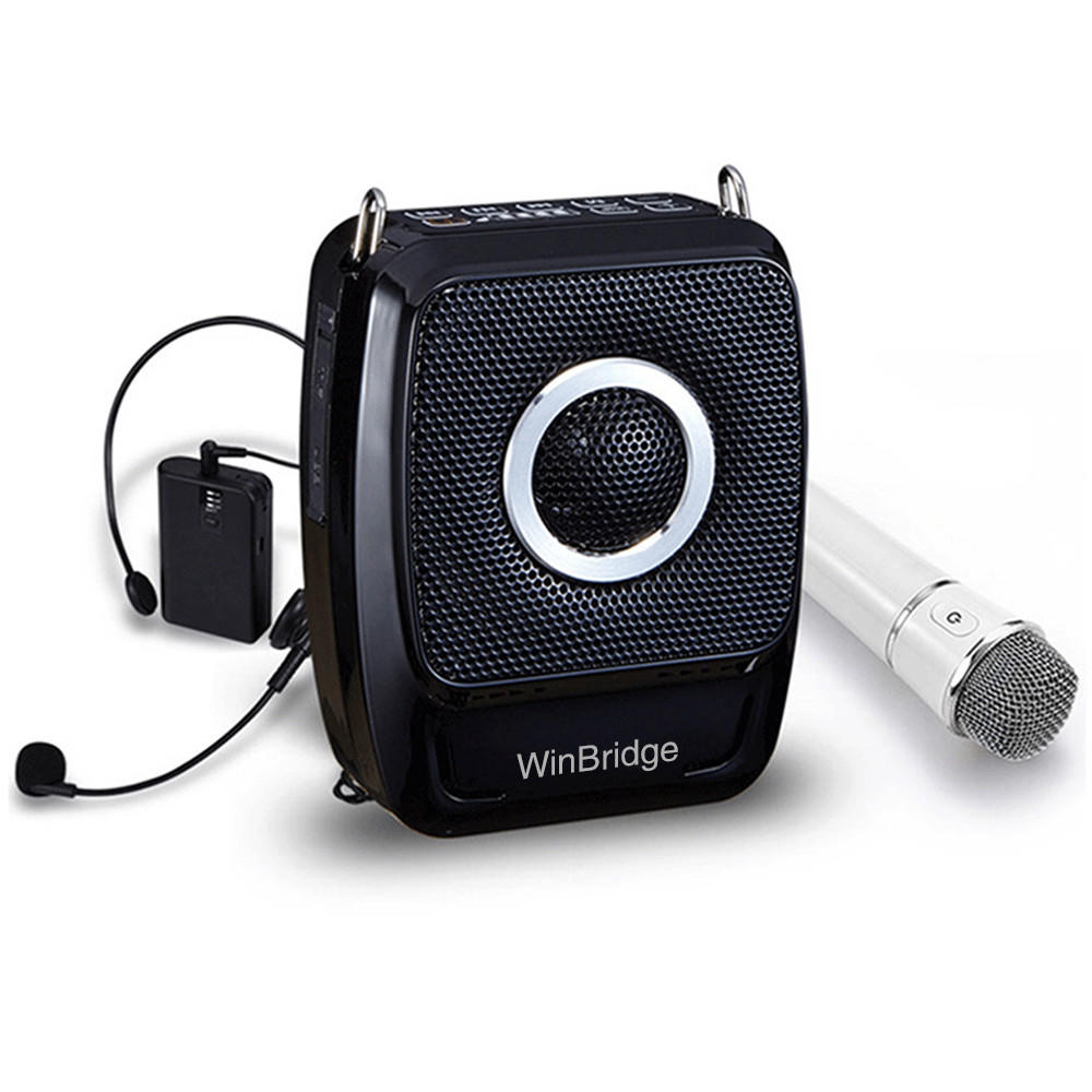 teacher voice amplifier portable microphone speaker wireless headset wired Winbridge Brand company