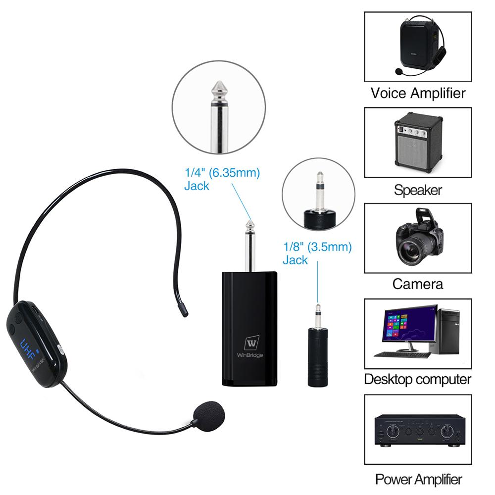 Winbridge high quality wireless microphone manufacturer for speech-11