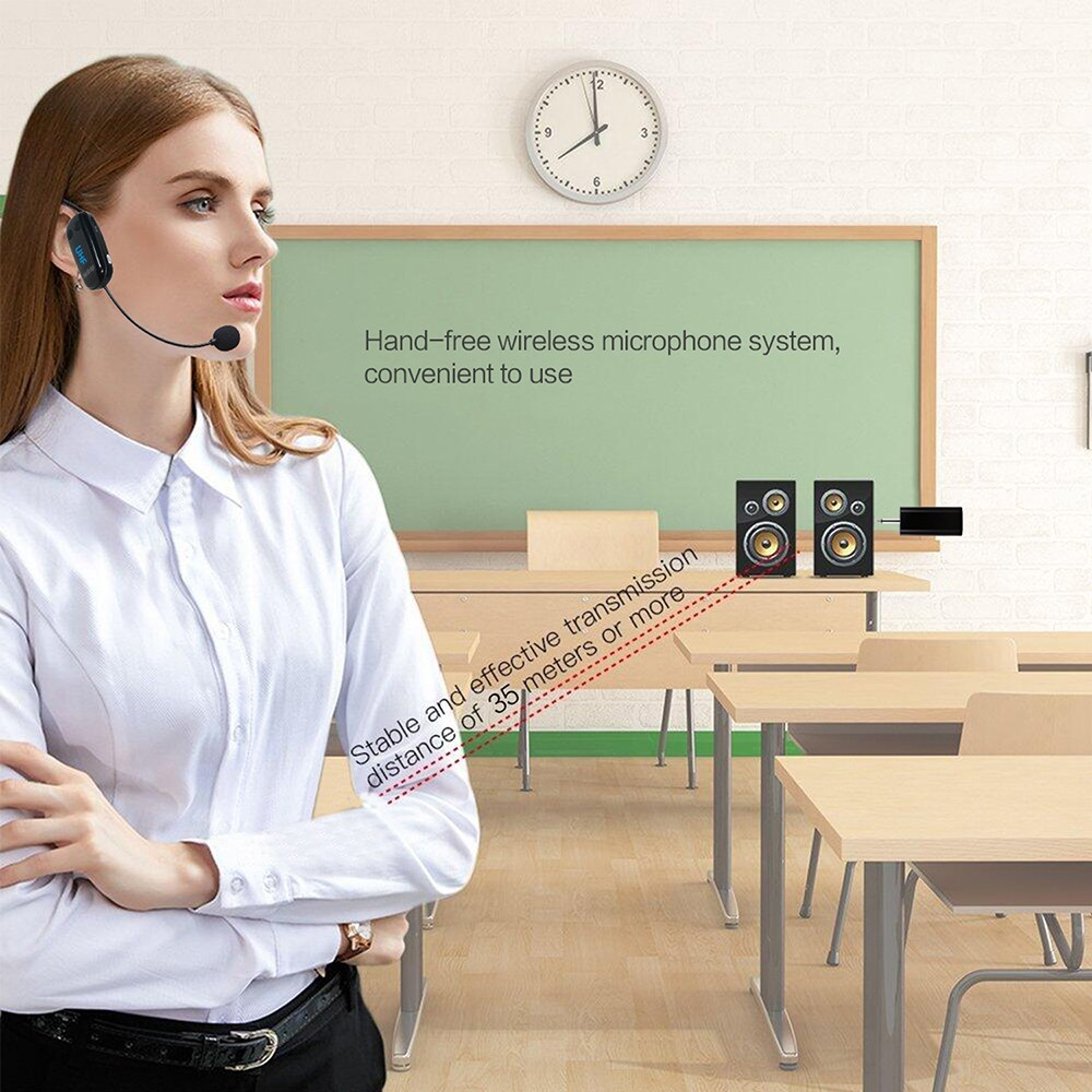 wired wireless microphone headset manufacturer for speech-12