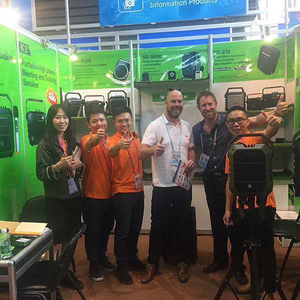 we attended Autumn Canton fair 2018