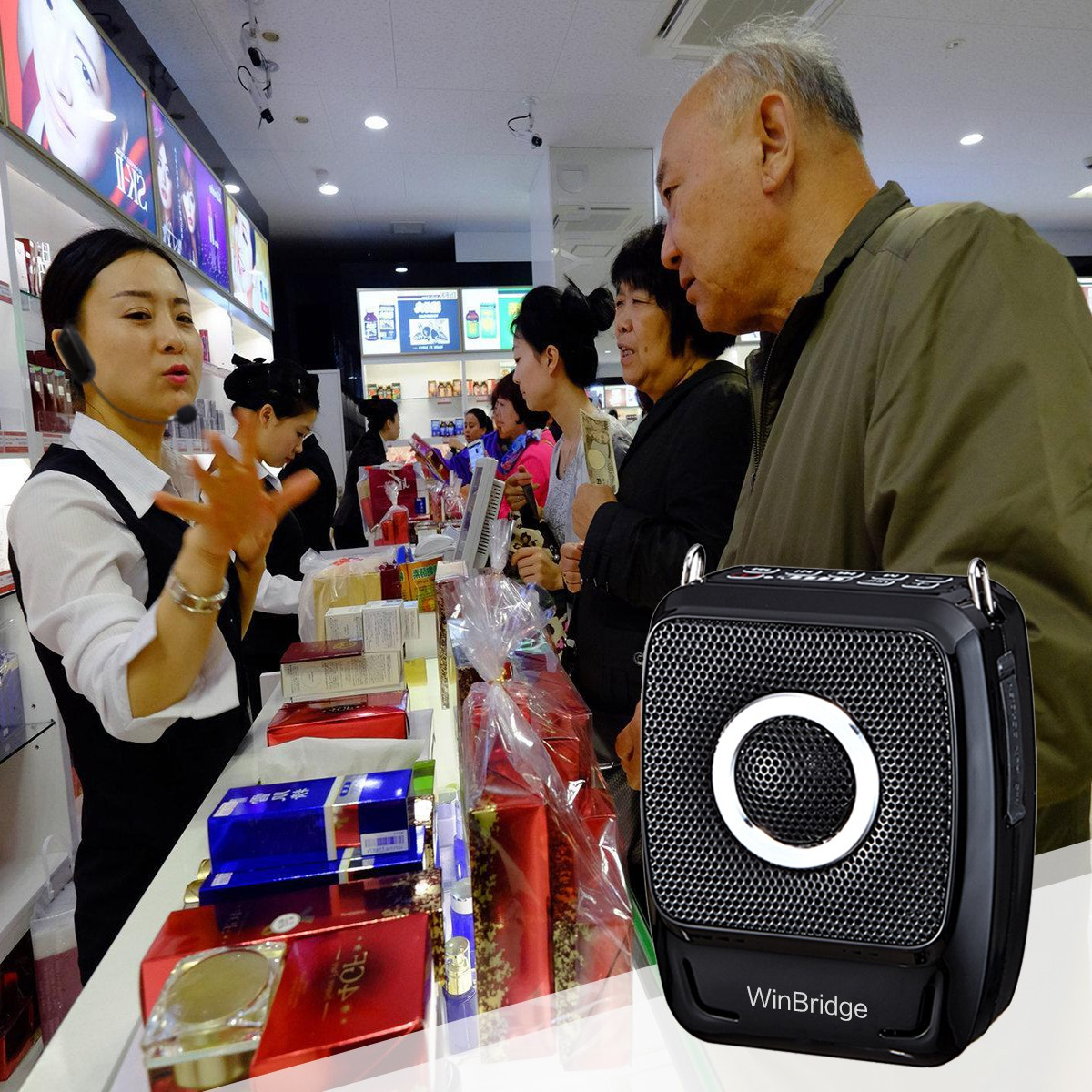 latest wireless voice amplifier for teachers supply for speech-5