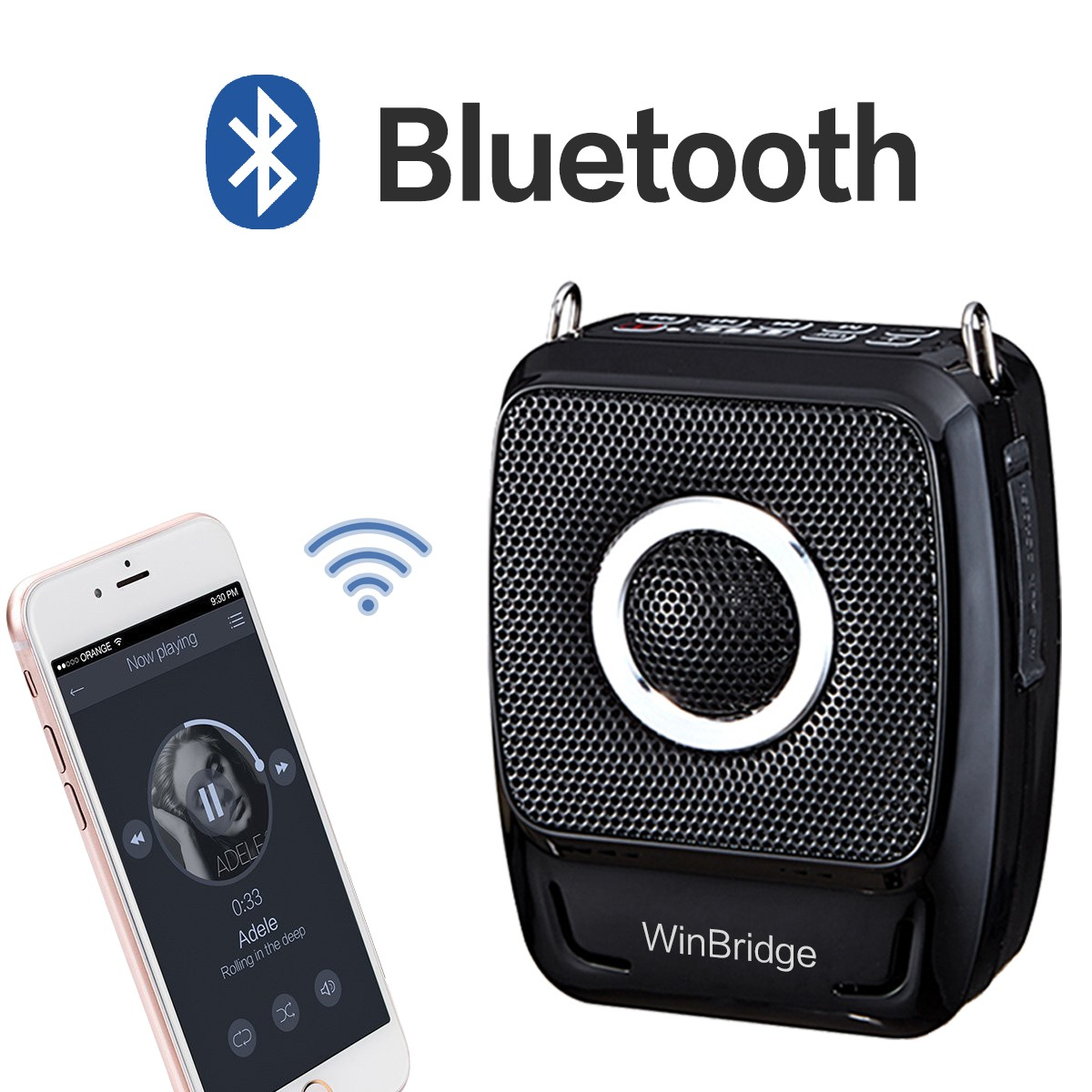 latest wireless voice amplifier for teachers supply for speech-12