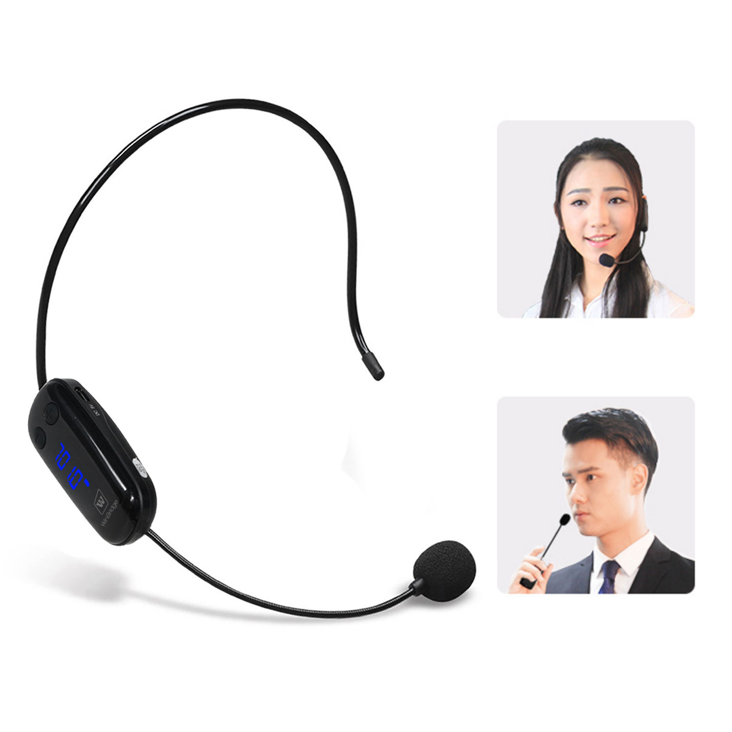 Winbridge wireless lapel microphone supplier for speech-11