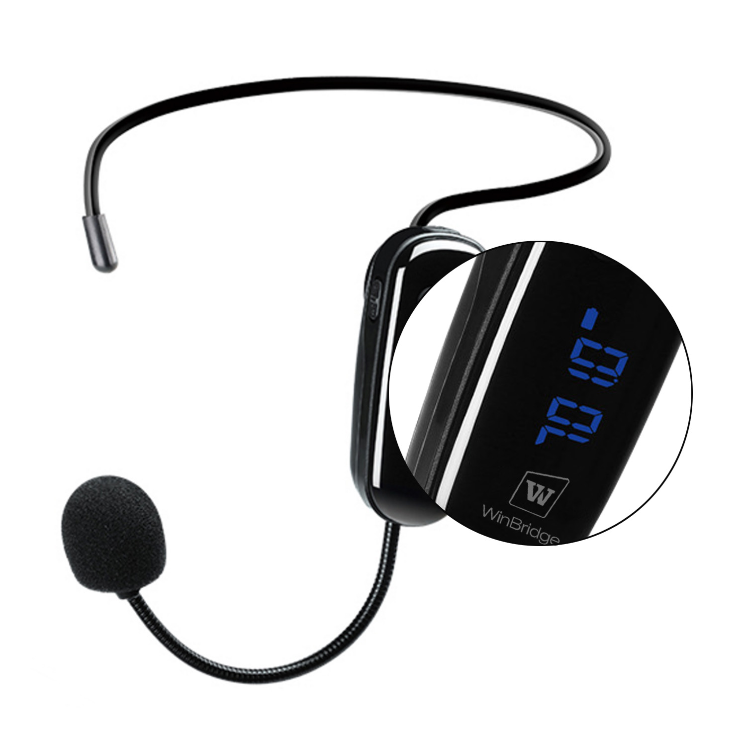 headset wireless lapel microphone supply for sale-3