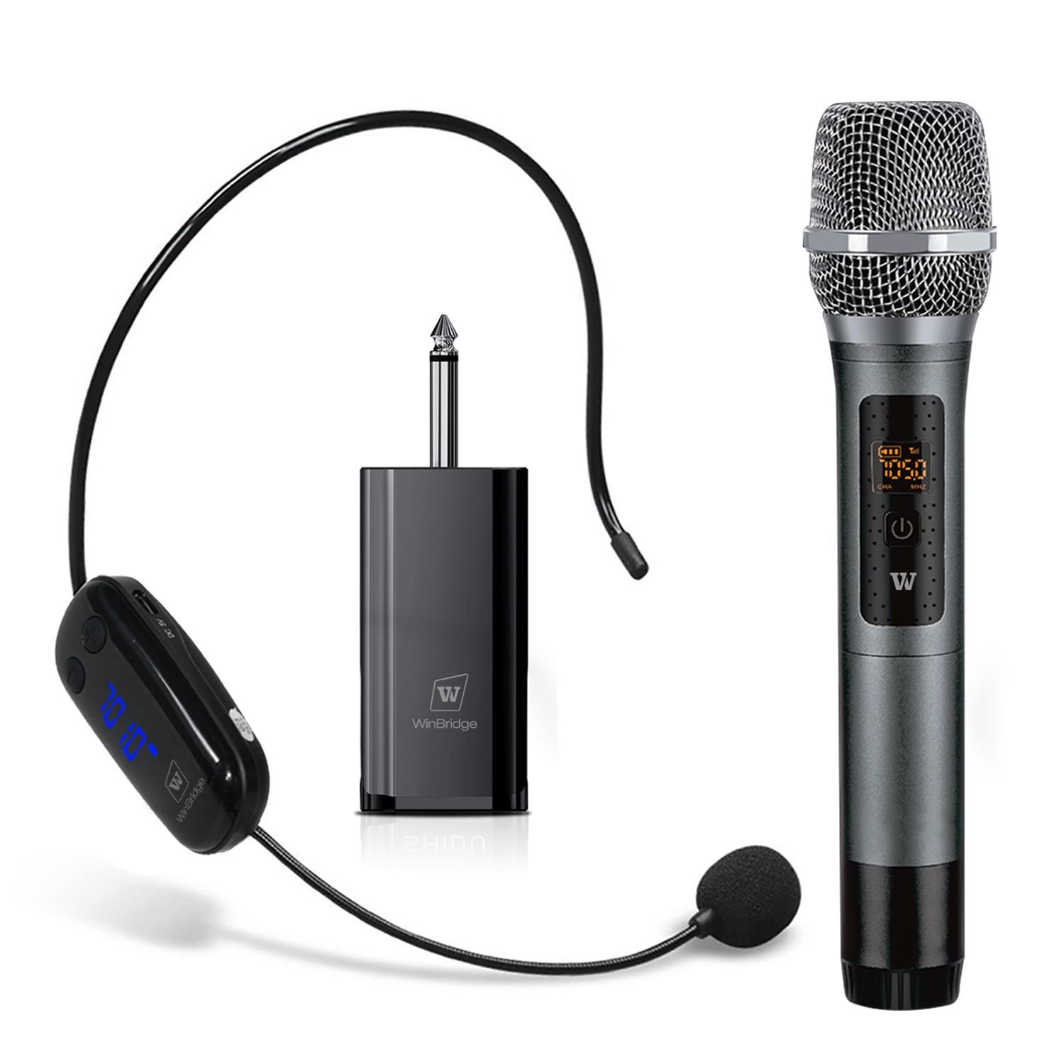 Winbridge wireless lapel microphone supplier for speech