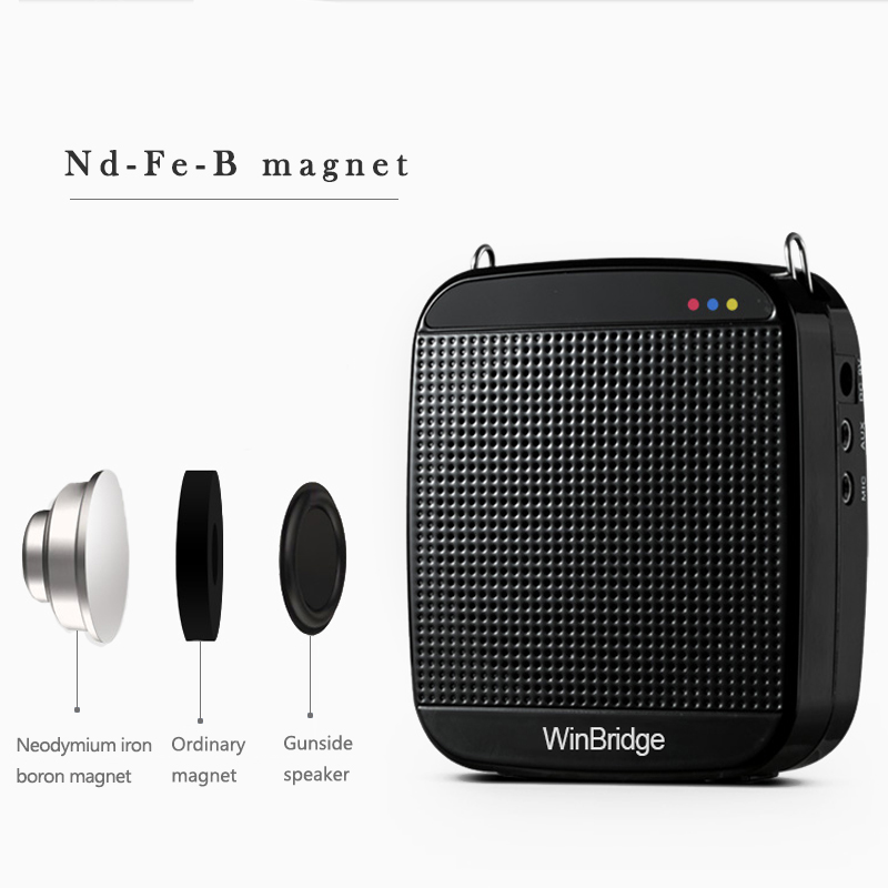 Winbridge best portable voice amplifier for teachers with wireless microphone wholesale-11