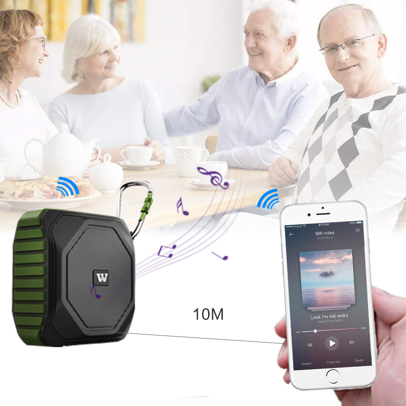 Winbridge bluetooth home speakers with touch panel for party-10