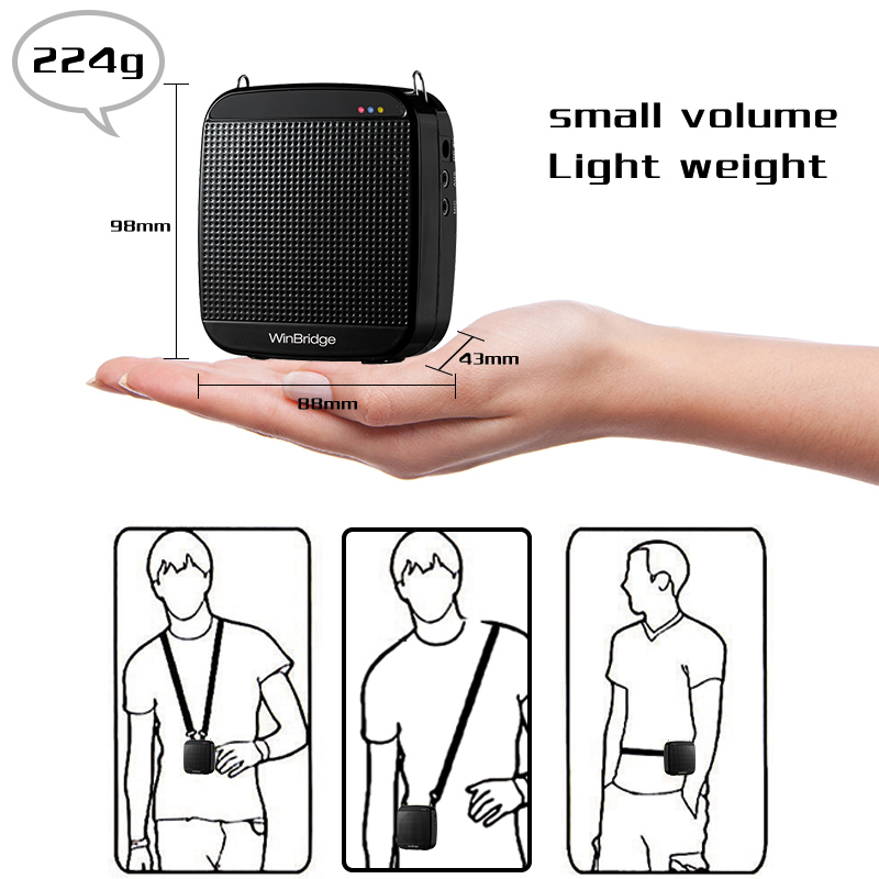 watt wireless voice amplifier for teachers with waistband wholesale-12