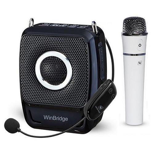 Winbridge WB92 PRO 25Watt Voice Amplifier with UHF Wireless Microphone