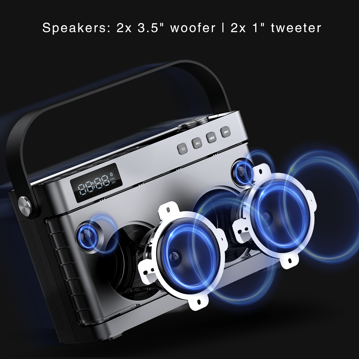 Winbridge bluetooth karaoke speaker factory for street performance-1
