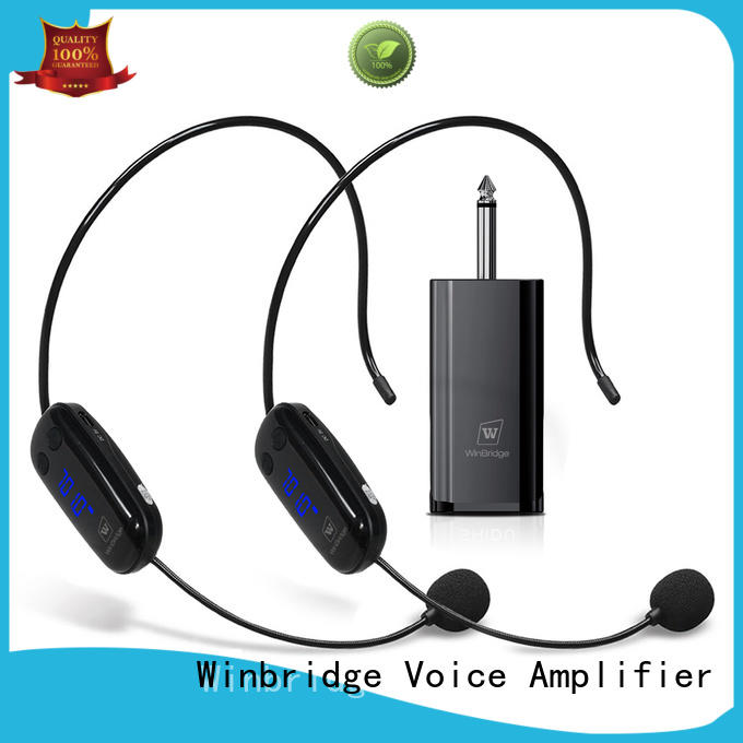 Winbridge wireless microphone headset manufacturer for party