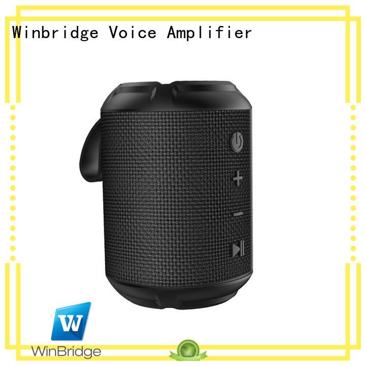 high quality best portable bluetooth speaker wholesale for cafe Winbridge