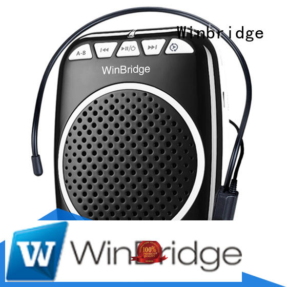 teacher voice amplifier portable microphone speaker teacher mini Winbridge Brand