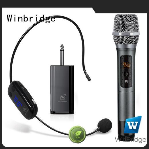 Hot wired wireless microphone receiver winbridge Winbridge Brand
