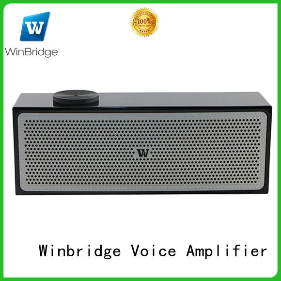 sound big bluetooth speakers with touch panel for outdoor hiking Winbridge