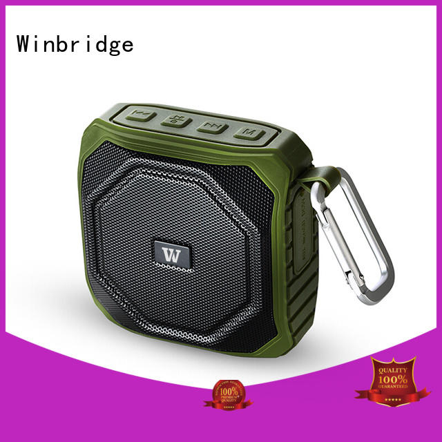 mini cool bluetooth speakers supplier for cafe Winbridge