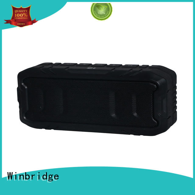 Winbridge hifi best portable bluetooth speaker supplier for outdoor hiking