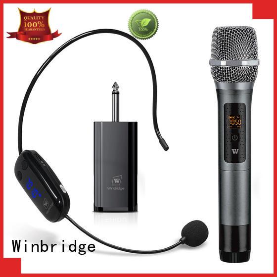 Winbridge wired mic wireless hot sale for speech