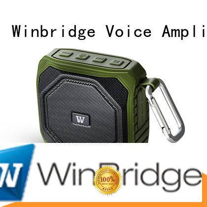 portable wireless Winbridge Brand cheap bluetooth speakers factory