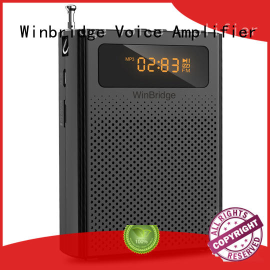 Winbridge disk wireless voice amplifier for teachers high end wholesale