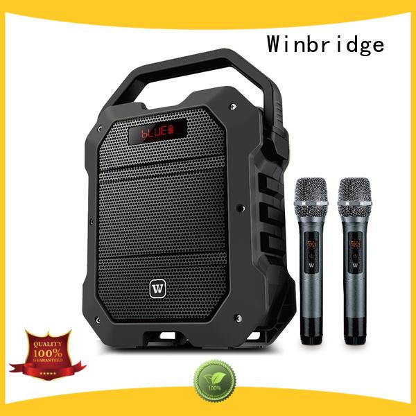 karaoke karaoke speaker box maker for street performance Winbridge