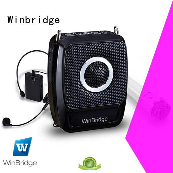 voice recorder amplifier with wireless microphone for teacher Winbridge