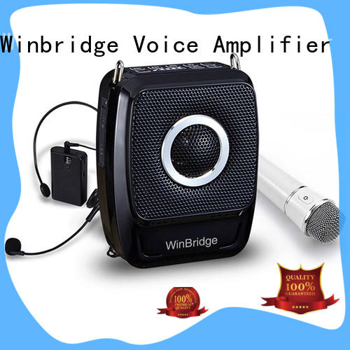 Winbridge rechargeable handheld voice amplifier for