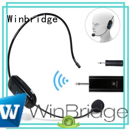 high end wireless collar microphone high quality for karaoke Winbridge