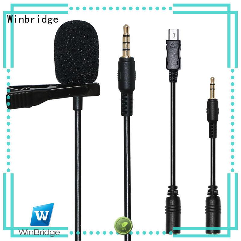 Winbridge Brand headset recording mic wireless